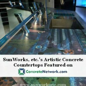 Concrete Network: Features SunWorks, etc.'s Countertops